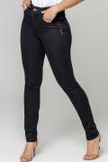 calça jeans amsterdam skinny com lavanderia amaciada